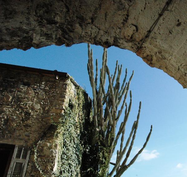 Bordighera (IM), Frazione Borghetto S. Nicolò, un angolo del centro storico