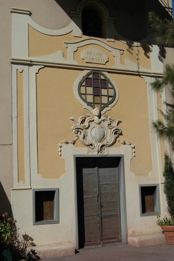 Bordighera (IM), Cappella del Carmelo