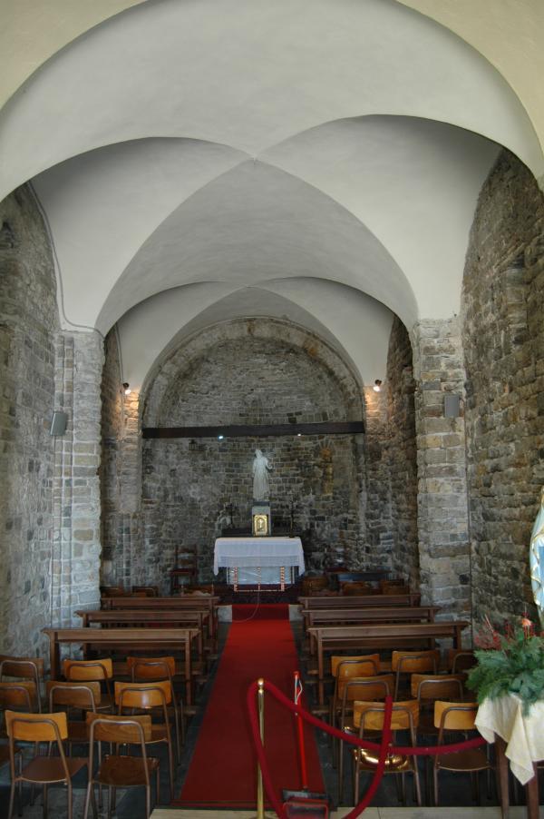 Bordighera (IM), Chiesetta di S. Ampelio, int