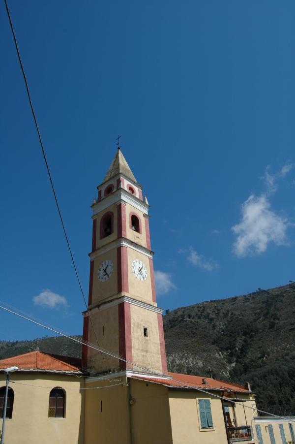 Ventimiglia (IM), Frazione S. Pancrazio, Parrocchia