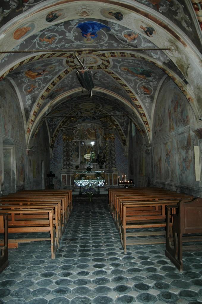 Isolabona (IM), Val Nervia, Santuario di Nostra Signora delle Grazie