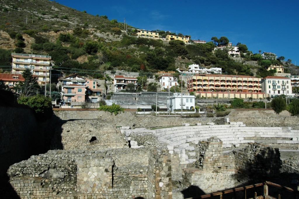 Il Teatro Romano a Ventimiglia (IM)