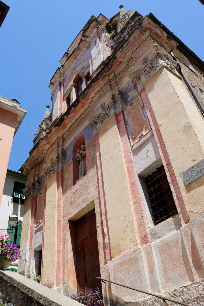 Pigna (IM): Oratorio di Sant'Antonio