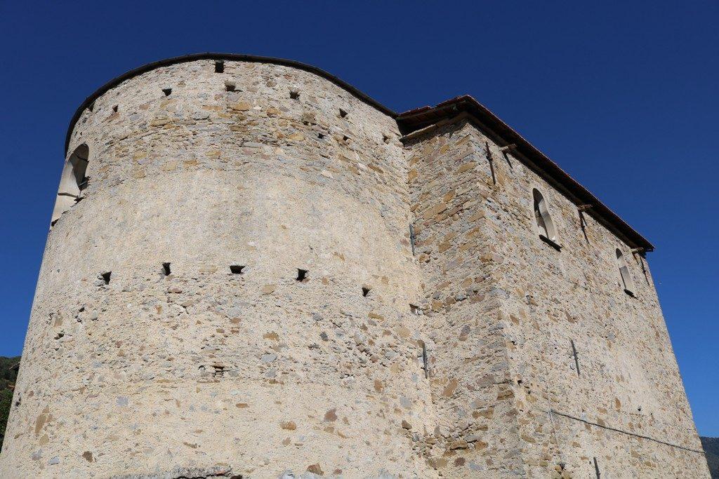 Dolceacqua (IM): Chiesa di Rostagno (XVII sec.)